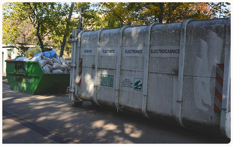 Colectarea deșeurilor rezultate din construcții și demolări