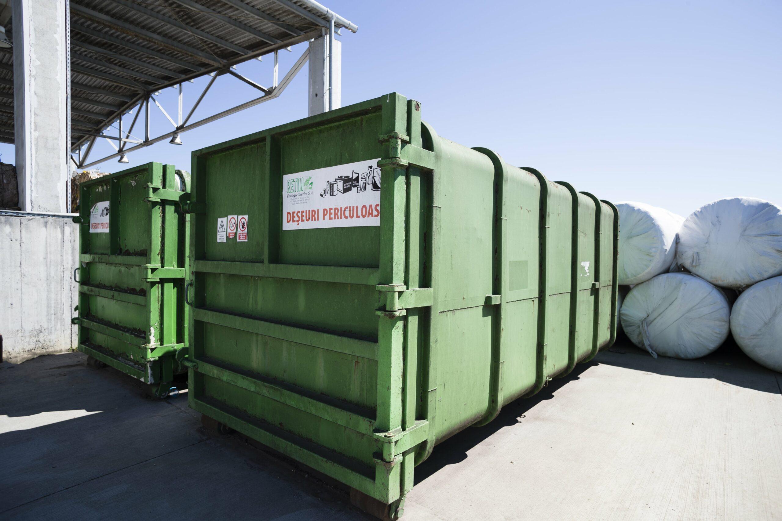 Colectarea deșeurilor periculoase